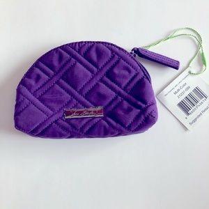 Vera Bradley Purple Mini Cosmetic Bag NWT